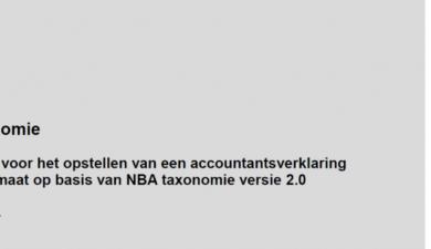 XBRL taxonomie