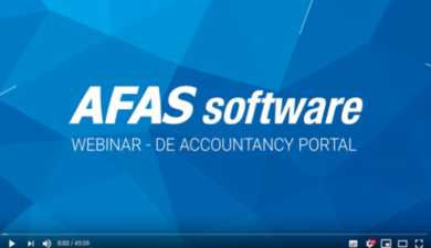 AFAS Software boekhouden