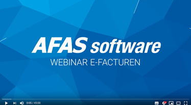 E-factureren AFAS Software
